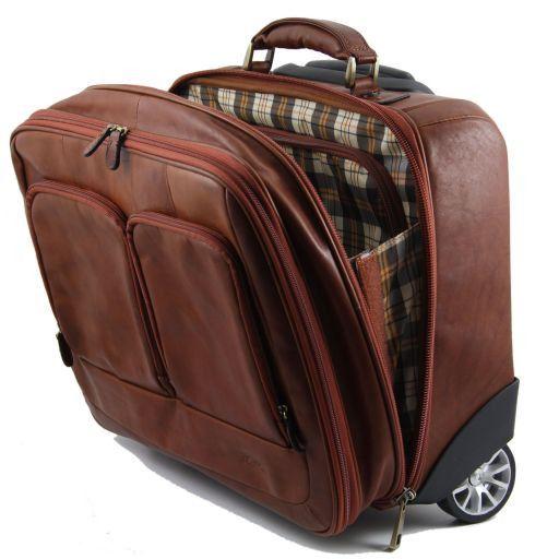 Caracas Elegante maleta con ruedas Marrón FC141139