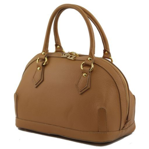 TL Bag Bauletto in pelle piccolo Beige TL141158