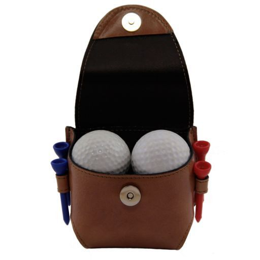 Esclusivo porta palline da golf 4 palline Nero TL141161