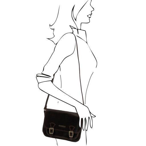 San Marino Borsa da donna in pelle - Modello piccolo Miele TL141200
