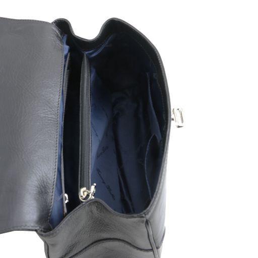 TL NeoClassic Bauletto piccolo in pelle Blu scuro TL141227