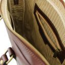Prato Elégante serviette pour portable en cuir Marron foncé TL141283
