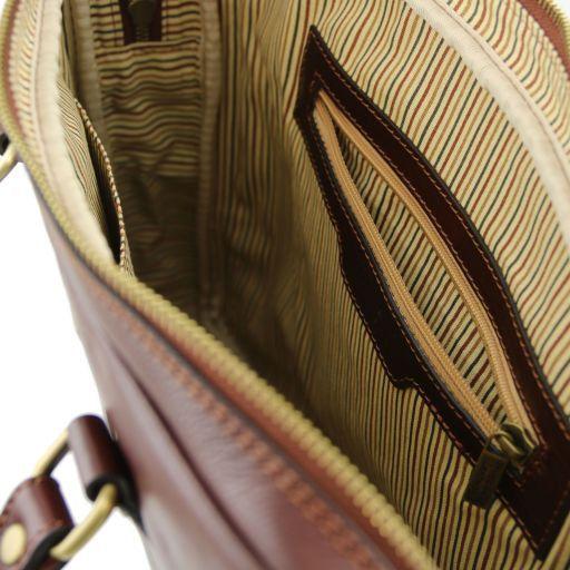 Prato Esclusiva cartella porta notebook in pelle Testa di Moro TL141283