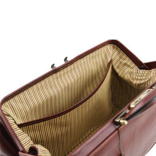 Bernini Esclusiva borsa medico in pelle Miele TL141298