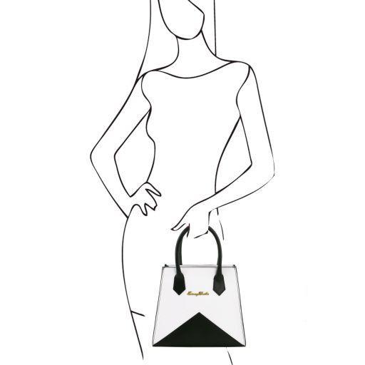 Afrodite Borsa Origami in pelle Testa di Moro TL141374