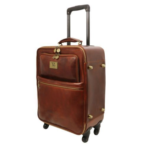 TL Voyager Trolley verticale in pelle con 4 ruote Miele TL141390