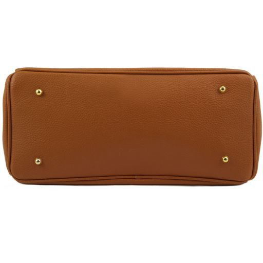 TL KeyLuck Borsa a mano media con accessori oro Rosso TL141397