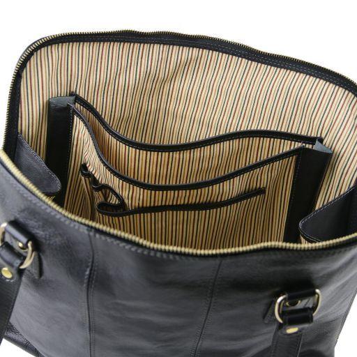 Ravenna Esclusiva borsa business per donna Nero TL141400