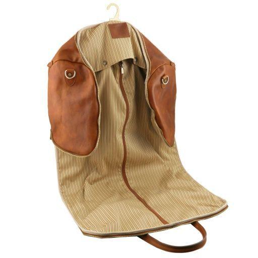 Antigua Travel leather duffle/Garment bag Коричневый TL141538