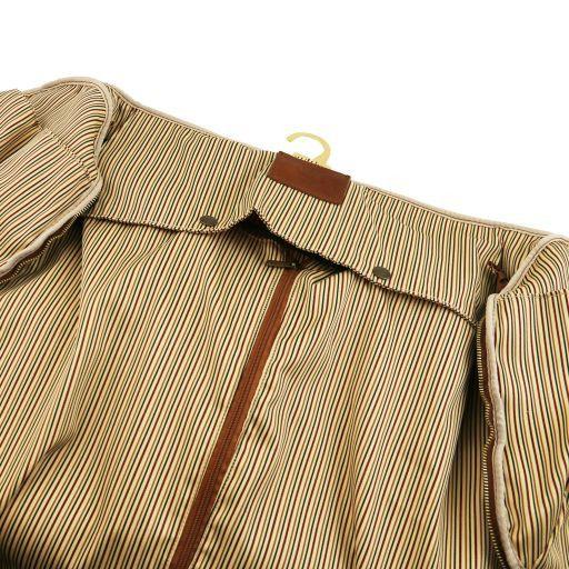 Antigua Travel leather duffle/Garment bag Natural TL141538