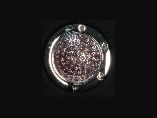 Portaborse da tavolo Rotondo Rosa TL140878