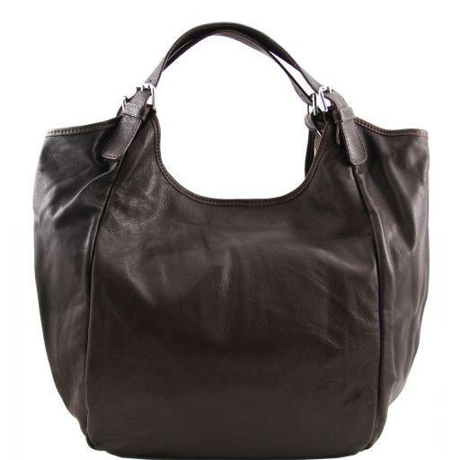 Gina Borsa shopping donna in pelle Testa di Moro TL140886