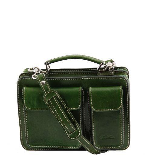 Tracy Leather lady handbag Зеленый TL140960
