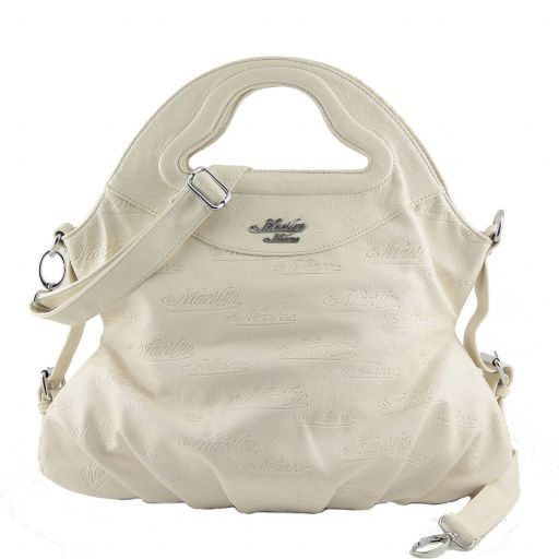 Borsa a mano Marilyn Monroe Bianco MM969