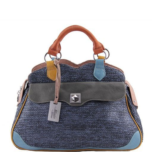 Borsa bauletto Marilyn Monroe Blu MM972