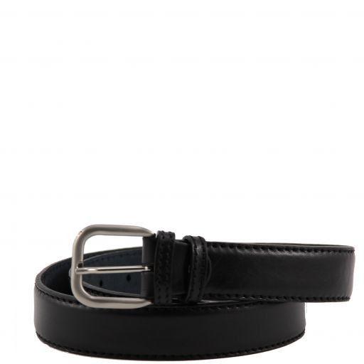 Cintura in pelle Nero TL140990