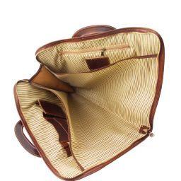 Sorrento Portafolio en piel Marrón TL141022