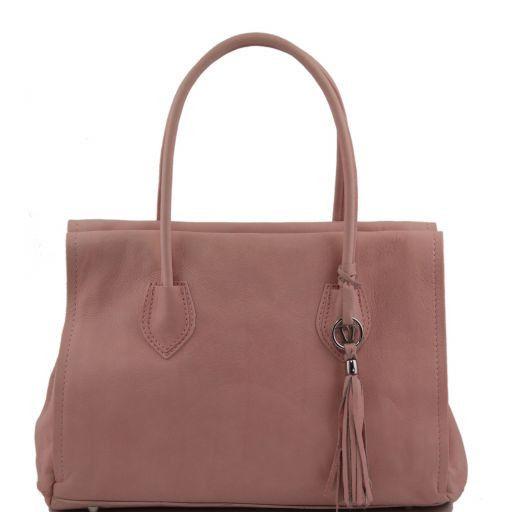 TL Bag Borsa morbida con nappa e tracolla Rosa TL141091