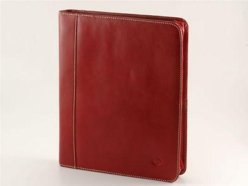 Enrico VIII Leather - Document case Красный TL10093