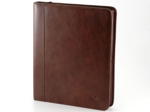 Enrico VIII Leather - Document case Темно-коричневый TL10093