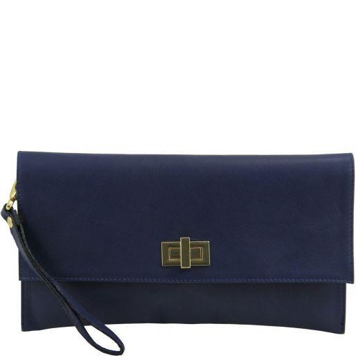 TL Bag Pochette in pelle Blu TL141109