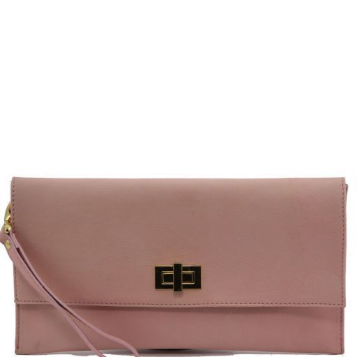 TL Bag Pochette en cuir Rose TL141109