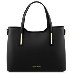 Olimpia Leather tote Black TL141412