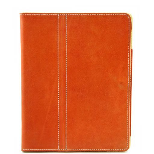 Leather iPad case Мед TL141112