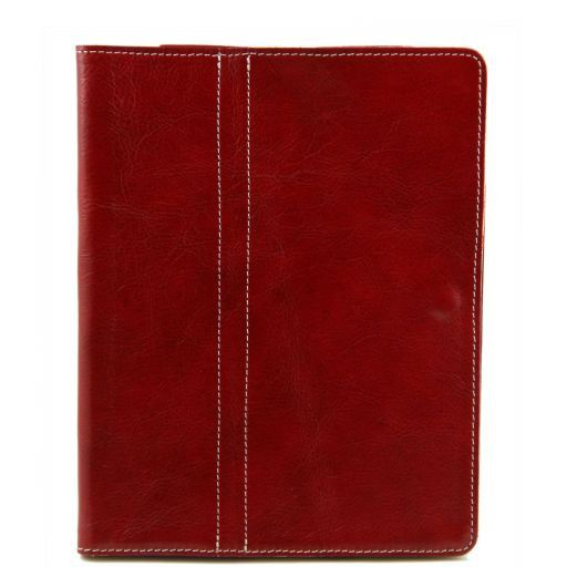 Leather iPad case Red TL141112