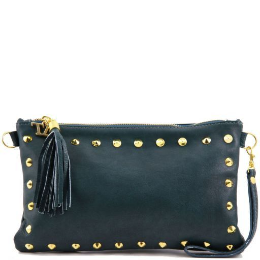 TL Rockbag Pochette in pelle con borchie Ottanio TL141114