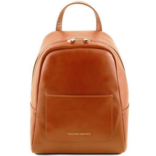 TL Bag Petite sac à dos en cuir pour femme Miel TL141614