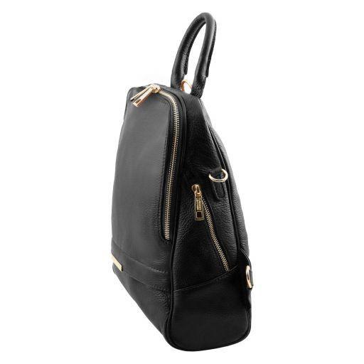 TL Bag Soft leather backpack for women Черный TL141376