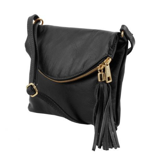 TL Young bag Shoulder bag with tassel detail Black TL141153