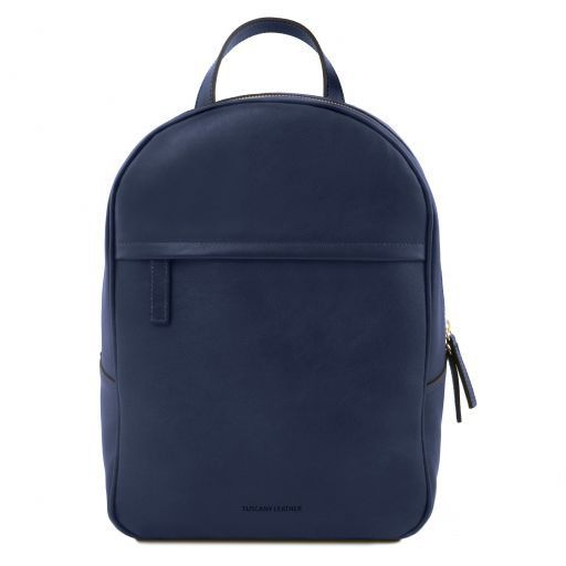 TL Bag Zaino donna in pelle Blu scuro TL141604
