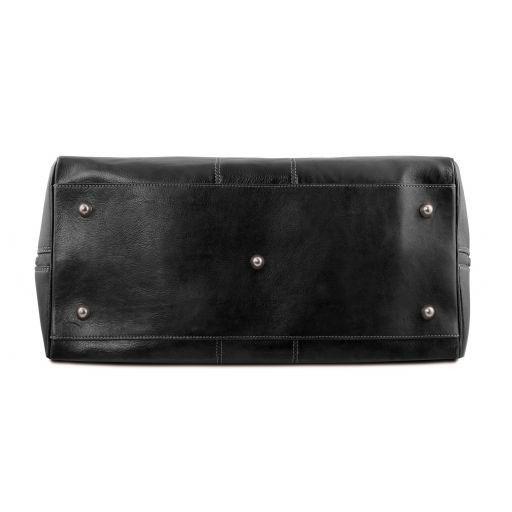 Lisbona Leather travel set Black TL141659