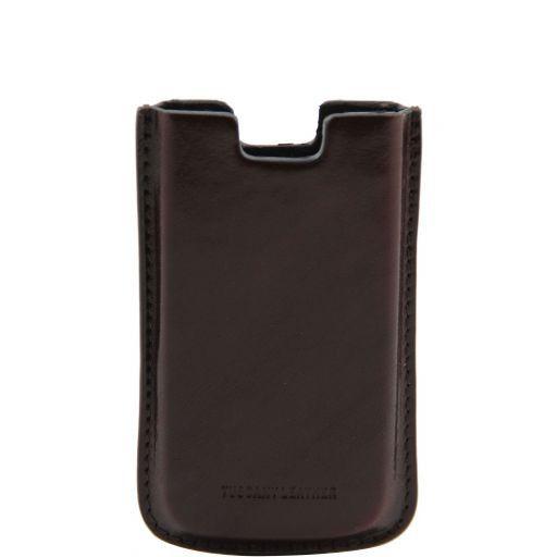 Esclusivo porta iPhone4/4s in pelle Testa di Moro TL141124