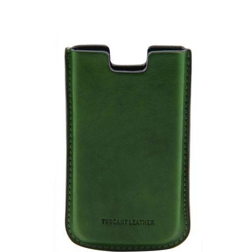 Esclusivo porta iPhone4/4s in pelle Verde TL141124