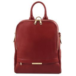 TL Bag Soft leather backpack for women Красный TL141376