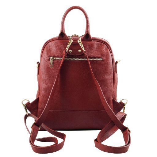TL Bag Soft leather backpack for women Красный TL141376