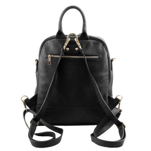 TL Bag Soft leather backpack for women Black TL141376