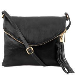 TL Young Bag Сумка на плечо с кисточкой Черный TL141153