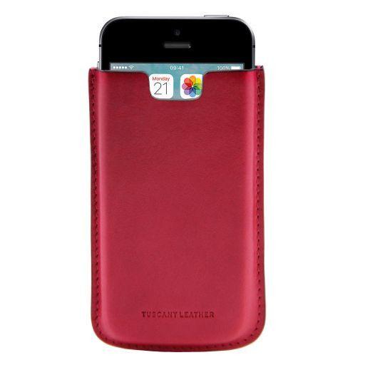 Esclusivo porta iPhone SE/5s/5 in pelle Rosa TL141128