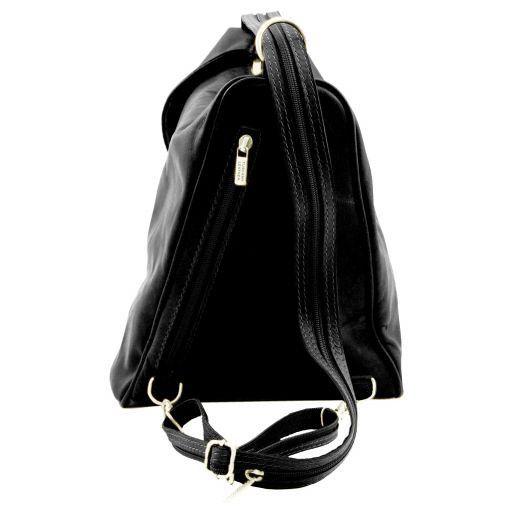 Delhi Leather backpack Black TL140962