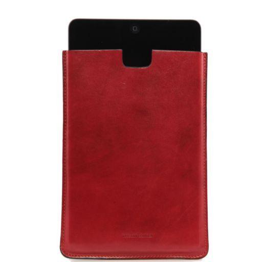Porta iPad Mini in pelle Rosso TL141141