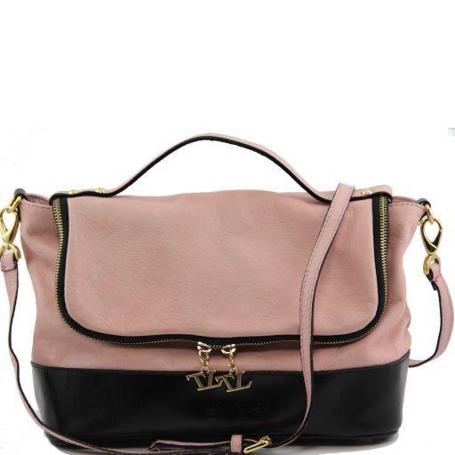 TL Spring Bag Borsa a mano in pelle morbida Rosa TL141145