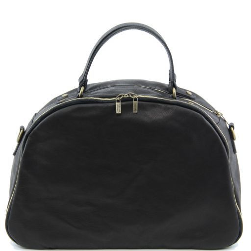 TL Sporty Weekend Bag en piel Negro TL141149