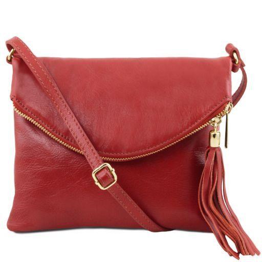 TL Young Bag Sac bandoulière avec pompon Rouge TL141153
