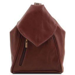 Delhi Рюкзак из мягкой кожи Коричневый TL140962