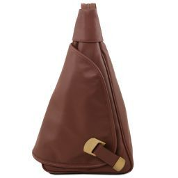 Hanoi Leather backpack Brown TL140966