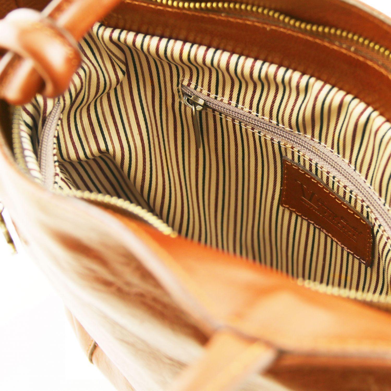 3720b912ec56 Patty Женская кожаная сумка рюкзак 2 в 1 Мед TL141497